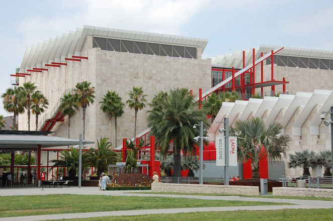 Broad Contemporary Art Museum (BCAM) - Rear Exterior